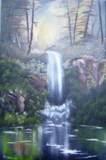 swallow falls painting