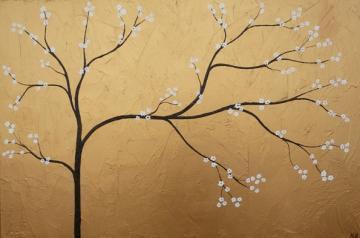 Golden Cherry Blossom