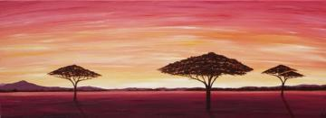 African Evening Trees