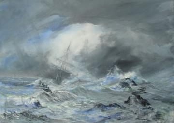 A Sudden Storm at Sea