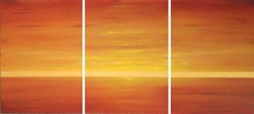 African Sunrise triptych