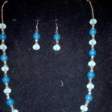 topaz and moonstone set