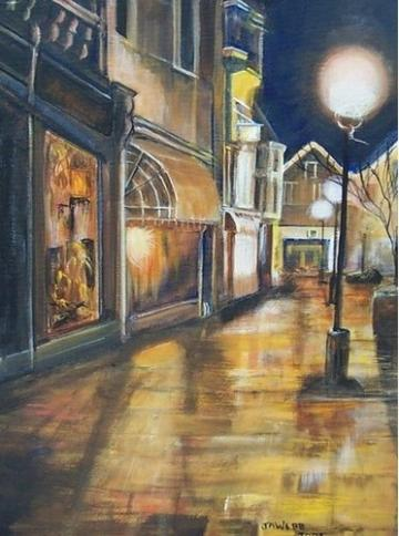 Salisbury City at Night