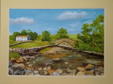 Dales River Scene