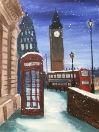 London under the Snow
