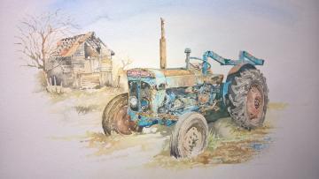 'Super Dexia' Old Tractor