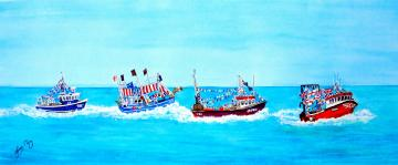 The Trawler Race