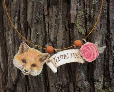 Fox & Rose necklace