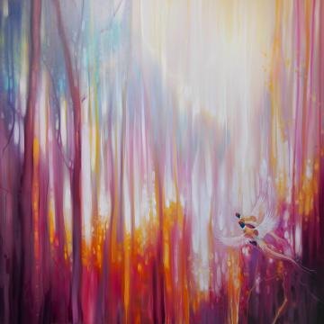 Nebulous Forest - a semi abstract landscape