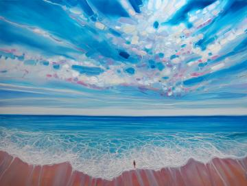 Ocean Calling - blue sea seascape
