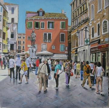 Campo San Bartolomeo. Venice.