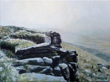 Winter view from Shining Tor