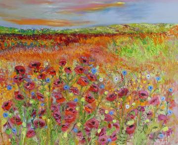 Wildflower Poppy Meadow