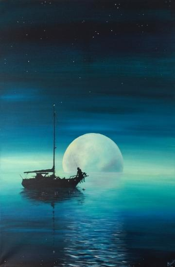 The Yacht, The Moon and The Lovers