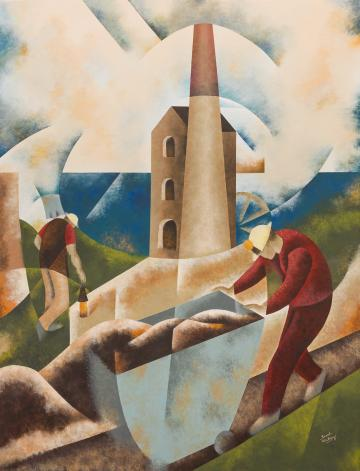 Men at Work, Cornish Engine House