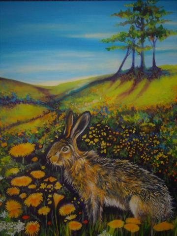 Hare & Dandelions