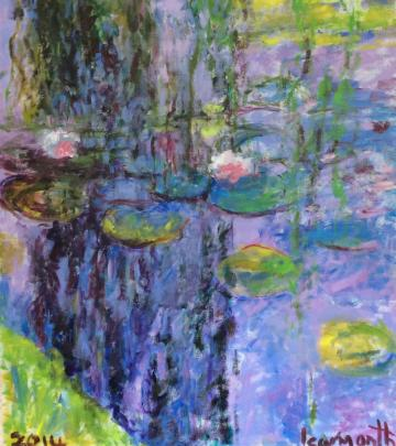 waterlilies after Monet
