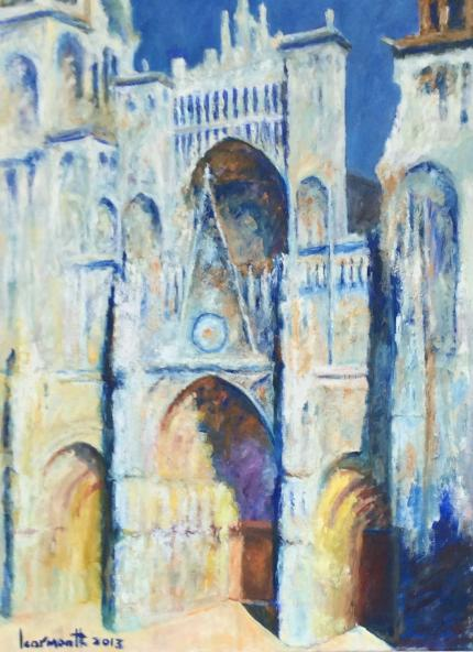 Rouen Cathederal. After Monet