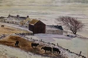North Yorkshire Dales Winter Scene