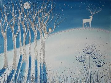 Winter Stag