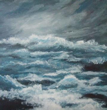 Crashing Waves (MacMillan Donation)