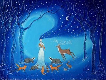 Goddess of Night and Protection