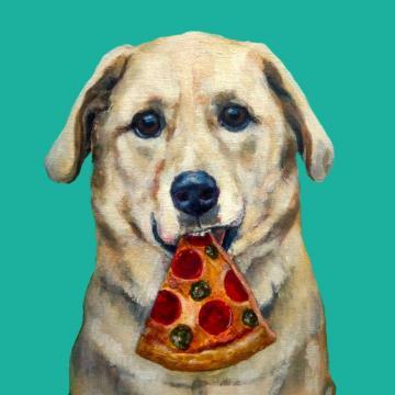 Pizz Mutt Print