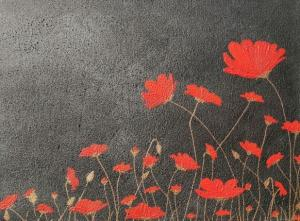 Crimson Poppies