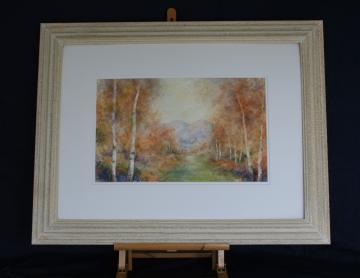 Autumn Impression.The Malverns.