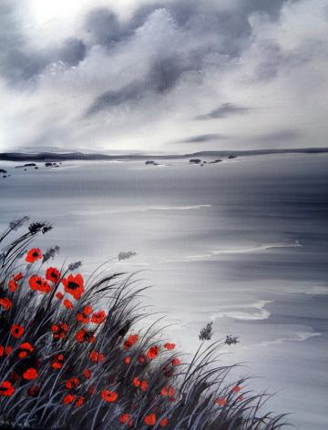 Stormy Poppies lll