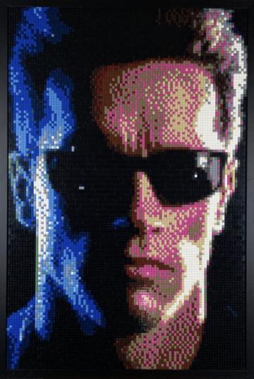 Lego Terminator Mosaic