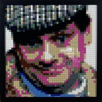 Lego Del Boy Mosaic
