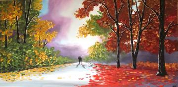 Beautiful Autumn Walk