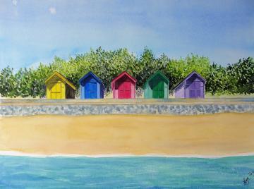 Folkestone Beach Huts