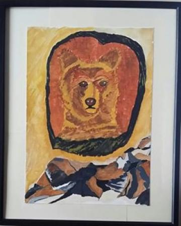 Bear - My Power Animal (Framed Original)