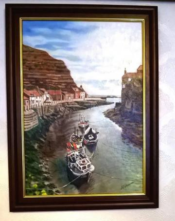 Fishing Boats at Staithes
