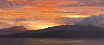 Applecross Bay Sunset