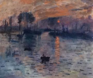 Impression sunrise (after Monet)      (2018)