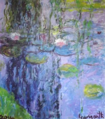 Waterlilies (after Monet     (2014)