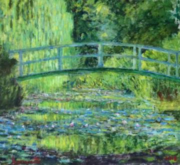 Waterlilies (after Monet)     (2018)