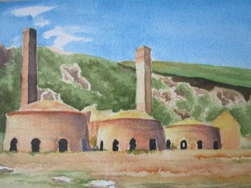 The Kilns, Porthwen Brick Works