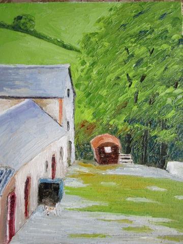 Glan Clettwr Farm