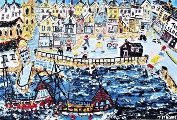 SEA FRONT-- ST IVES
