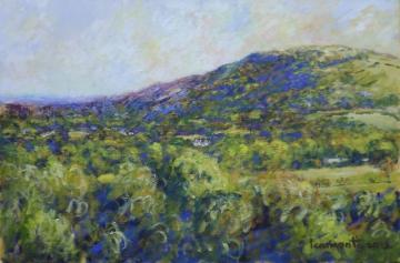Otley Chevin viewed from Burley Woodhead  2012