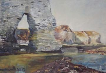 Sea arch near South Landing, Flamborough     2013