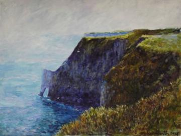 Scale Nab at Bempton Cliffs on a morning in Summer    2013