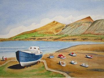 The Boats, Nefyn, North Wales