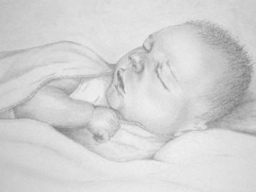 Sleeping Safe in Mum's Heart