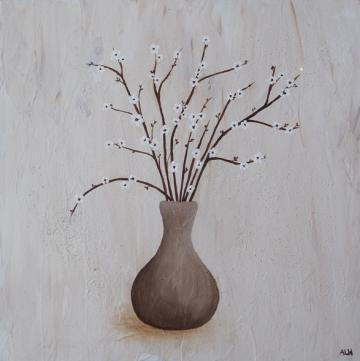 Vase and Blossom