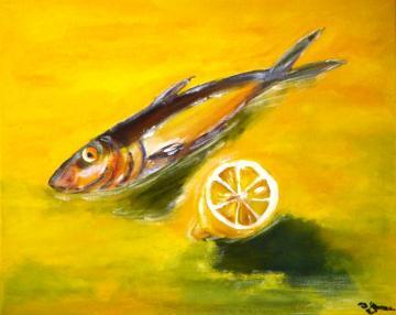 Sardine and Lemon